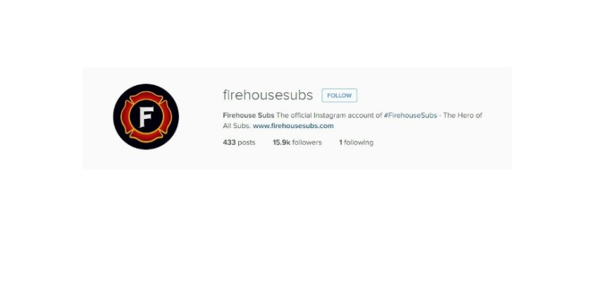 How Firehouse Subs Franchise Uses Instagram To Build Their Community