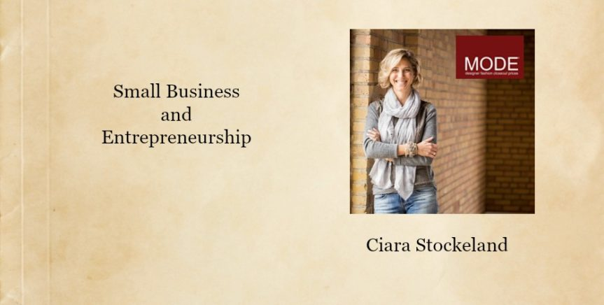 Small Business and Entreprenuership