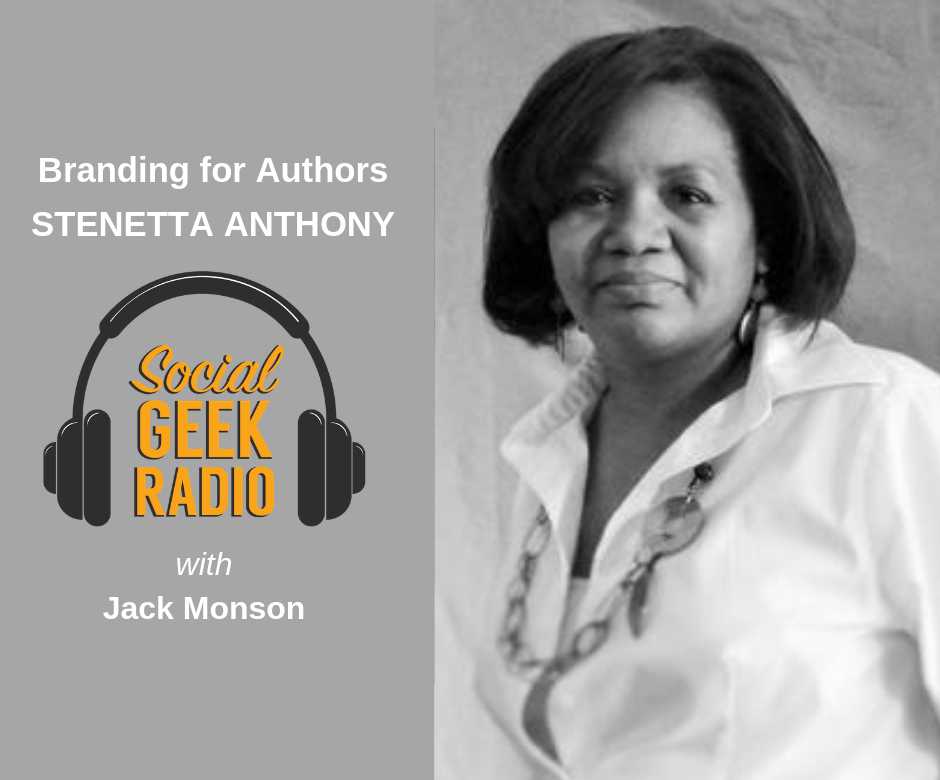 Branding for Authors with Stenetta Anthony