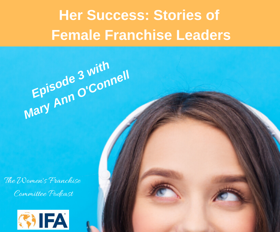 Women's Franchise Committee Podcast: Mary Ann O'Connell