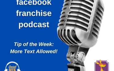 Facebook Franchise Tip of the Week: More Text Allowed