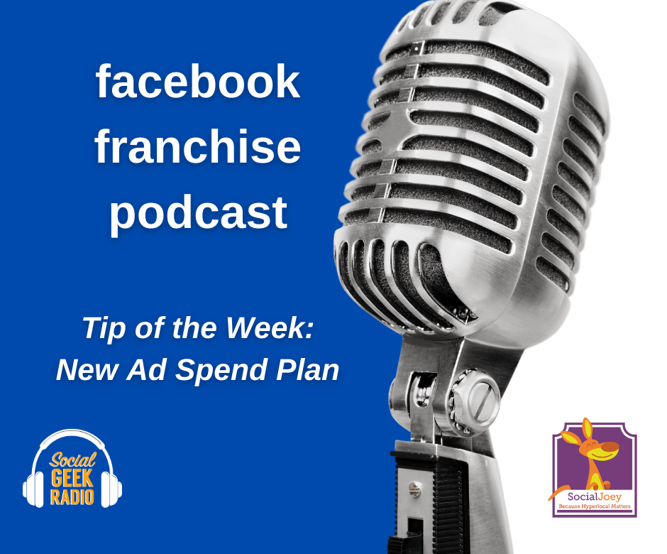 Facebook Franchise Tip of the Week: Ad Spend Plan