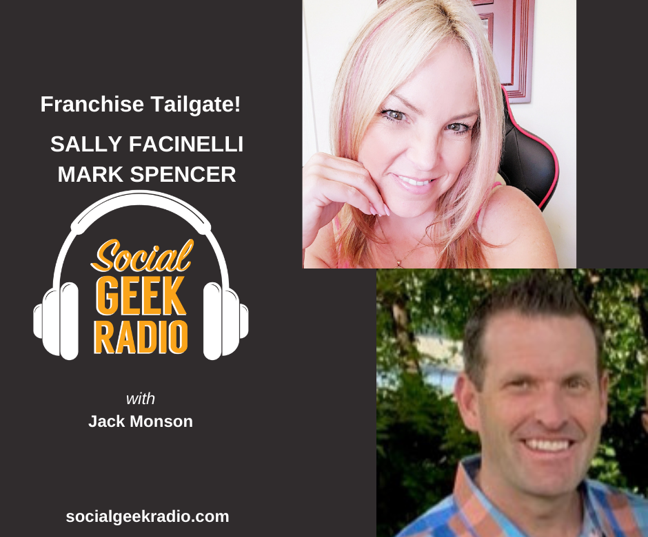 Franchise Tailgate with Sally Facinelli and Mark Spencer