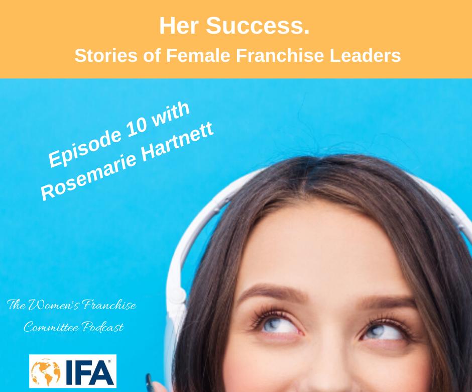 Women's Franchise Committee Podcast: Rosemarie Hartnett