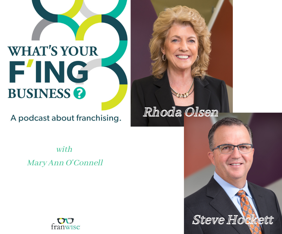 Ep 9: What's Your F'ing Business with Mary Ann O'Connell and Great Clips